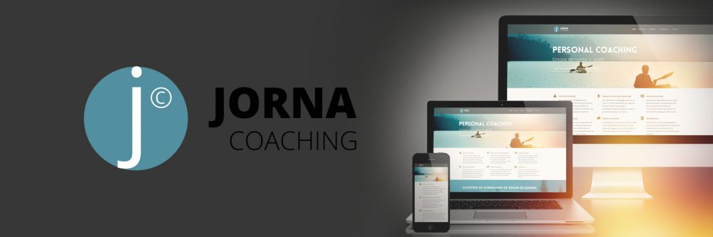 Nieuw logo en website JORNA Coaching